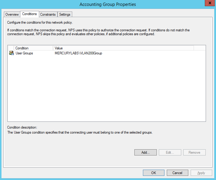 IEEE 802 1X Authentication and Dynamic VLAN Assignment with NPS